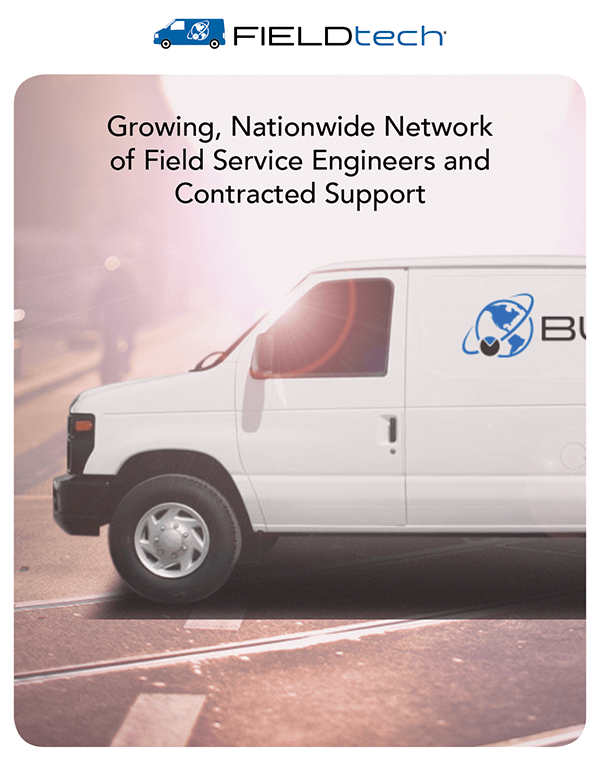 FIELDtech: Growing Nationwide Network of Field Service Engineers and Contracted Support